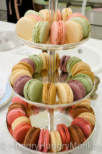 Delicious macarons at Laudrée