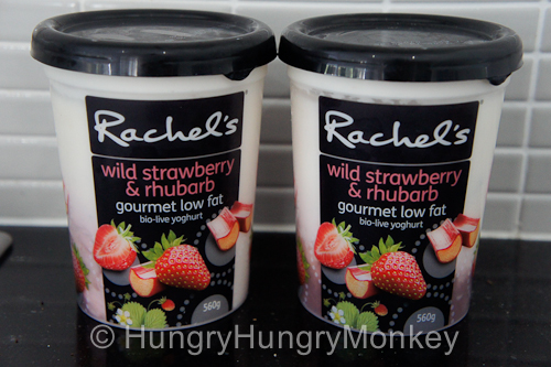 Wild Strawberry & Rhubarb, 560g tubs